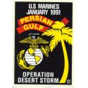 USMC Persian Gulf 1991  Decal