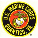 US Marines Quantico, VA Decal