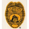 Marines Police (New) USMC Military Decal