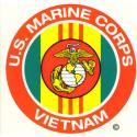 US Marines Vietnam Decal