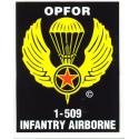 Army 1/509 Infantry (OPFOR) Airborne Decal