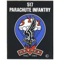 Army 517th Parachute Infantry Airborne Decal