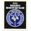 Army 542nd Parachute Infantry Airborne Decal