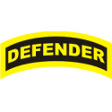 Defender Tab (Yellow/Black) Tab Decal