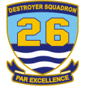 DESRON 26  Decal