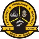 EOD Mobile Unit 3  Decal