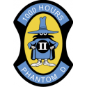 F4 Phantom 1000 Hours Decal
