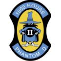 F4 Phantom 1000 Hours Decal