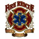 FIRE RESCUE CLASSIC DECAL
