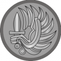 French Foreign Legion Winged Dagger Decal