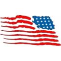 Flag - Brushed (Reversed)