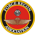 Force Recon Association Decal