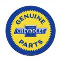 Genuine Chevy Parts  All Metal Sign