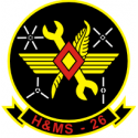 Headquarters and Maintenance Squadron 26 Decal