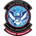 Homeland Security - Firearms Instructor Decal