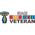Special Forces Iraqi Veteran Ribbon Decal