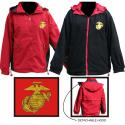 Marine EGA Direct Embroidered Reversible Fleece Jacket