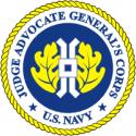 Navy JAG Decal