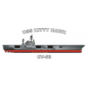 USS Kitty Hawk (CVA-63) Decal