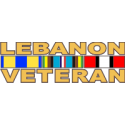 Lebanon Veteran Decal -2