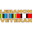 Lebanon Veteran Decal