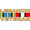 Lebanon Veteran Decal