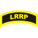 LRRP Decal Gold on Black