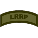 LRRP Tab Decal OLive Drab