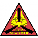 Marine Corps Air Station - New River 2 Decal