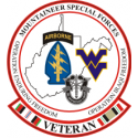 WV Mountaineer Special Forces decals