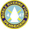 Mobile Riverine Force 4-47 Decal