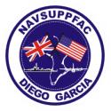 NAVSUPPFAC Diego Garcia  Decal