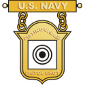 Navy Distinguished Pistol Shot Decal