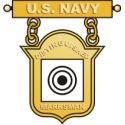 Navy Distinguished Marksman Badge Decal