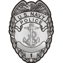Navy Police Decal