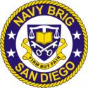 Navy Brig San Diego Decal