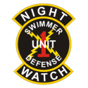 Night Watch ISDS Unit 1  Decal