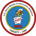 Naval Mobile Construction Battalion 21  Decal