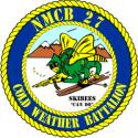 Naval Mobile Construction Battalion 27  Decal