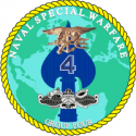 Naval Special Warfare Group Group 4 Decal