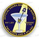 Official Osama Bin Laden Martini Patch