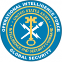 Operational Intelligence Force Army  Decal