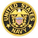 United States Navy Officer Patch