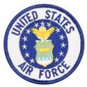 United States Air Force Crest Round Patch