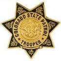 Colorado State Patrol Police Badge Pin