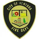 Ventura Fire Dept. Badge Pin