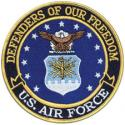 Air Force Defenders Of Our Freedom US Air Force Patch