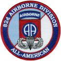 Army 82nd Airborne Division All American Patch
