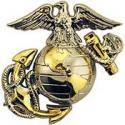 USMC EGA Emblem Collar Size - Left