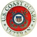 Coast Guard Veteran Pin
